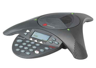 how to set up time on polycom phone